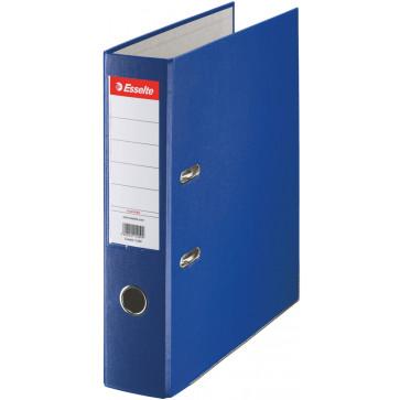 Biblioraft plastifiat, 7.5cm, albastru, ESSELTE Economy