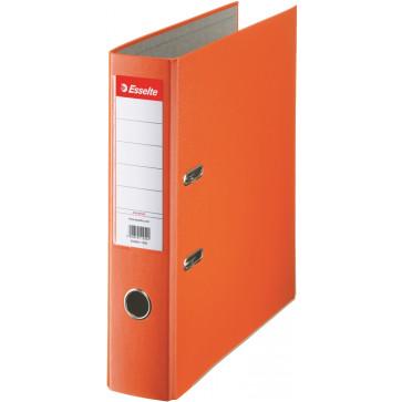Biblioraft plastifiat, 7.5cm, portocaliu, ESSELTE Economy
