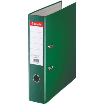 Biblioraft plastifiat, 7.5cm, verde, ESSELTE Economy