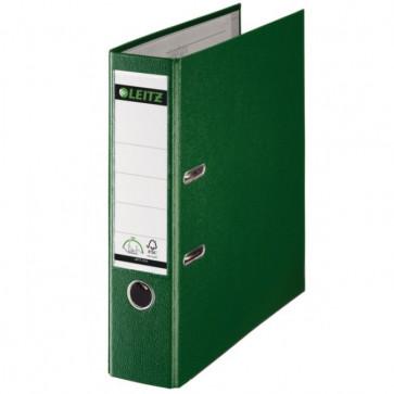 Biblioraft plastifiat, 8.0cm, verde, LEITZ 180°