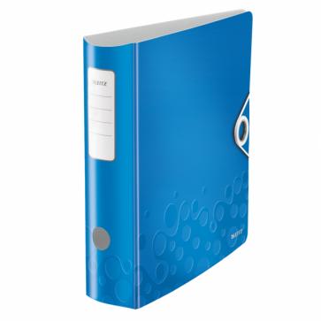 Biblioraft polyfoam, 5.0cm, albastru metalizat, LEITZ 180° Active WOW