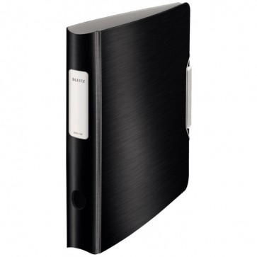 Biblioraft polyfoam, 5.0cm, negru satin, LEITZ 180° Active Style