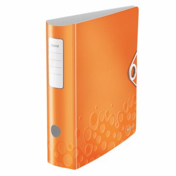 Biblioraft polyfoam, 5.0cm, portocaliu metalizat, LEITZ 180° Active WOW