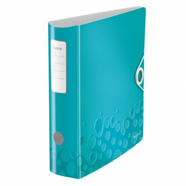 Biblioraft polyfoam, 5.0cm, turcoaz metalizat, LEITZ 180° Active WOW