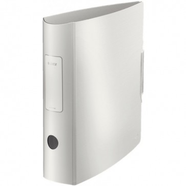 Biblioraft polyfoam, 7.5cm, alb arctic, LEITZ 180° Active Style