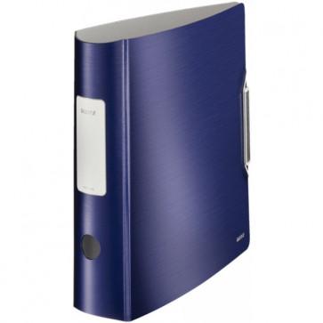 Biblioraft polyfoam, 7.5cm, albastru-violet, LEITZ 180° Active Style