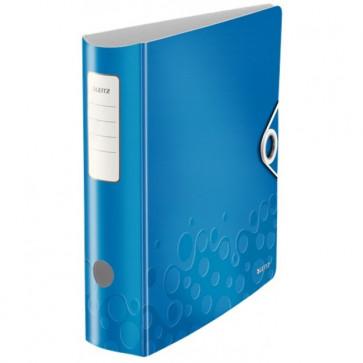 Biblioraft polyfoam, 7.5cm, albastru metalizat, LEITZ 180° Active Wow