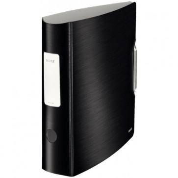 Biblioraft polyfoam, 7.5cm, negru-satin, LEITZ 180° Active Style