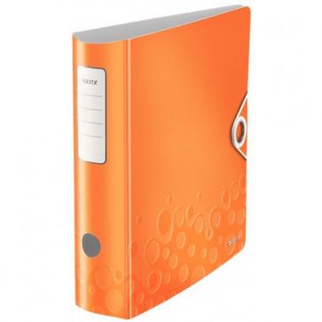 Biblioraft polyfoam, 7.5cm, portocaliu metalizat, LEITZ 180° Active Wow