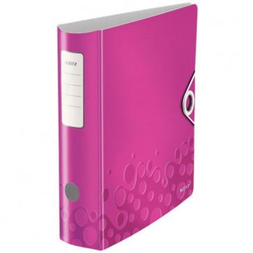 Biblioraft polyfoam, 7.5cm, roz metalizat, LEITZ 180° Active Wow
