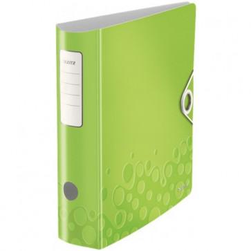 Biblioraft polyfoam, 7.5cm, verde metalizat, LEITZ 180° Active Wow