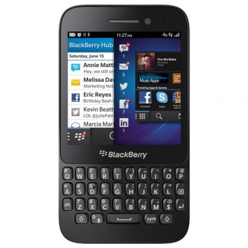 "Smartphone, 3.1"", 5MP, 4G, Wi-Fi, Bluetooth, Black, BLACKBERRY Q5"