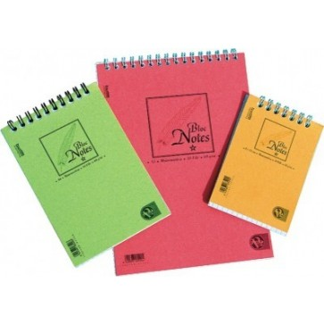 Bloc notes cu spira, A7, 50 file, dictando, PIGNA Basic