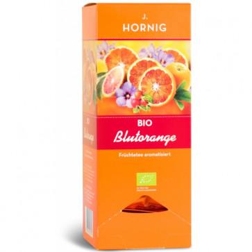 Ceai de portocale rosii BIO, 25 plicuri triunghiulare, J. HORNIG