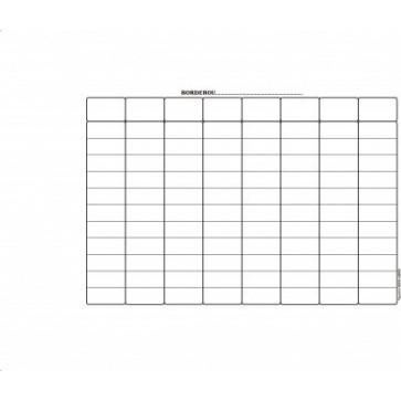 Borderou incasare (CEC), A5, tipar fata, 100 file/carnet