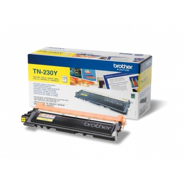 Toner, yellow, BROTHER TN230Y
