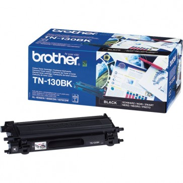 Toner, black, BROTHER TN130BK