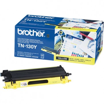 Toner, yellow, BROTHER TN130Y