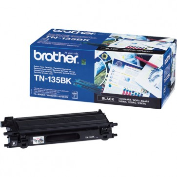 Toner, black, BROTHER TN135BK