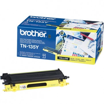 Toner, yellow, BROTHER TN135Y