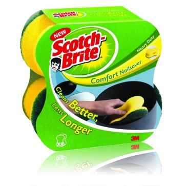 Burete ergonomic, 2 buc/set, SCOTCH-BRITE Confort