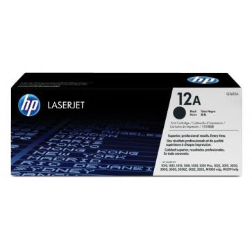 Toner, black, Nr. 12A, 2 buc./set, HP Q2612AD