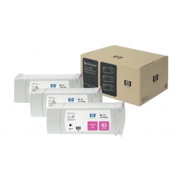 Cartus, magenta, nr. 83, 3 cartuse/set, HP C5074A UV