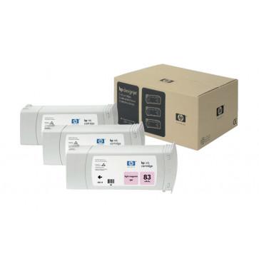 Cartus, light magenta, nr. 83, 3 cartuse/set, HP C5077A UV