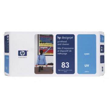 Printhead, cyan, Nr. 83, HP C4961A UV
