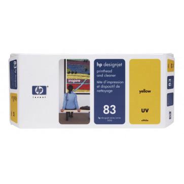 Printhead, yellow, Nr. 83, HP C4963A UV