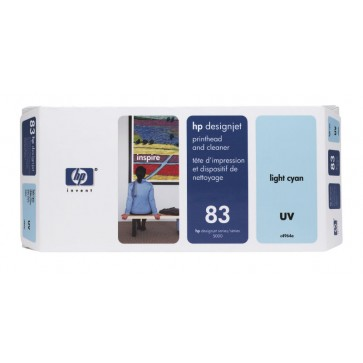 Printhead, light cyan, Nr. 83, HP C4964A UV