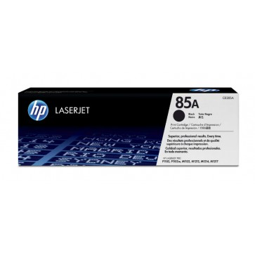 Toner, black, 85A, HP CE285A