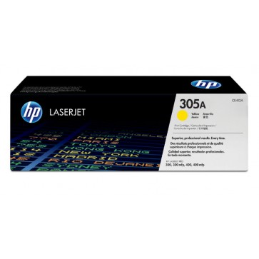 Toner, yellow, 305A, HP CE412A