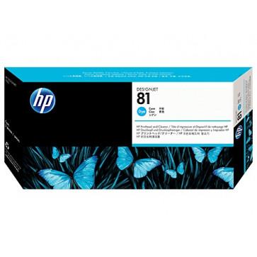 Printhead, cyan, Nr. 81, HP C4951A Dye