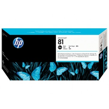 Printhead, black, Nr. 81, HP C4950A Dye