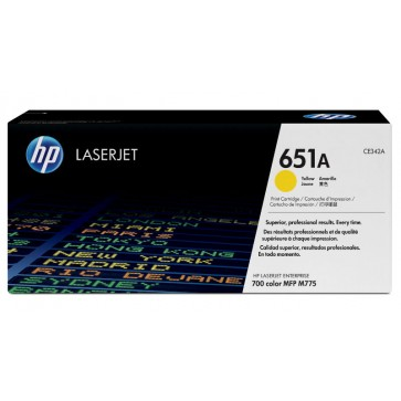 Toner, yellow, Nr. 651A, HP CE342A