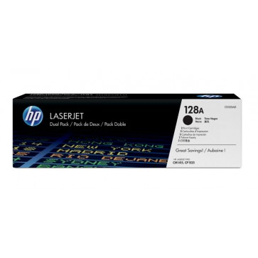 Toner, black, 128A, 2 tonere/set, HP CE320AD
