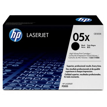 Toner, black, 05X, HP CE505X