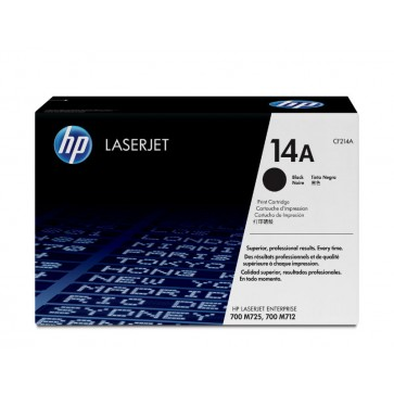 Toner, black, 14A, HP CF214A