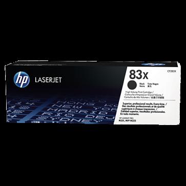 Toner, black, nr. 83X, HP CF283X