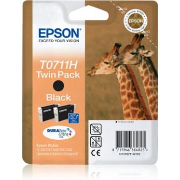 Cartus, negru, 2 buc/set, EPSON T07114010