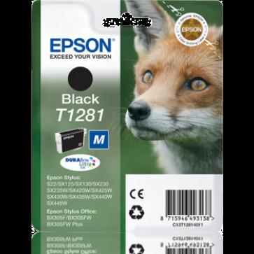 Cartus, negru, EPSON C13T12814011