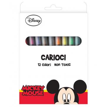 Carioci, 12 culori/set, MICKEY MOUSE