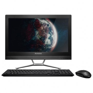"Sistem All in One, 21.5"", Intel Core i3-4005U 1.7GHz, 4GB, 1TB, nVIDIA GeForce 820A 2GB, Free Dos, negru, LENOVO IdeaCentre C470"