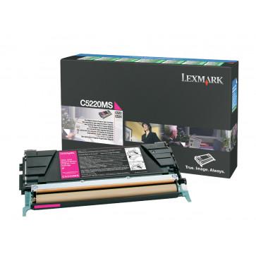 Toner, magenta, LEXMARK C5222MS