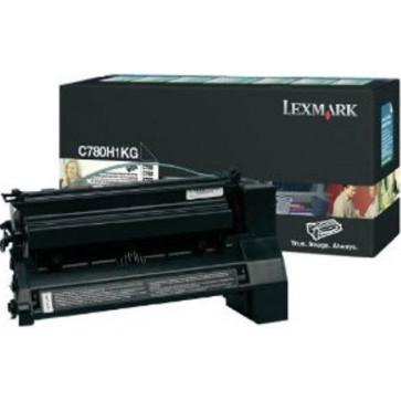 Toner, black, LEXMARK C780H2KG