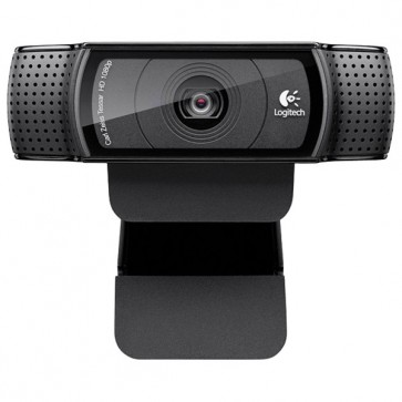 Camera Web, 1080p, negru, LOGITECH HD C920