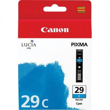 Cartus, cyan, CANON PGI-29C