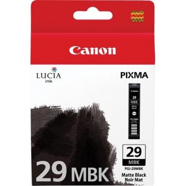 Cartus, matte black, CANON PGI-29MBK