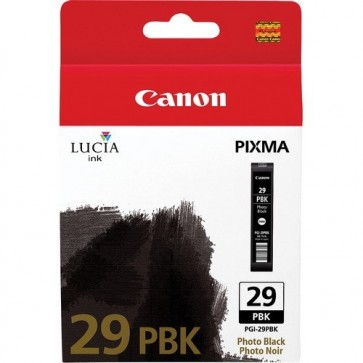Cartus, photo black, CANON PGI-29PBK
